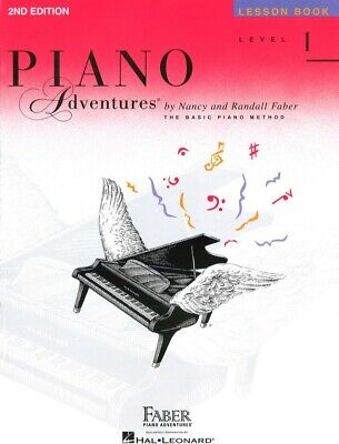 Piano Adventures Lesson Book Level 1- Nancy & Randall Faber - FF1078 NEW