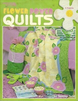 Leisure Arts - Flower Power Quilts 4 Project Patterns and Instructions 2004