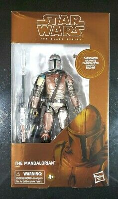 Star Wars Black Series The Mandalorian Carbonized Graphite Target Exclusive