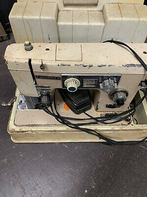 Dressmaker Zig-Zag SWA-2000 Vintage Sewing Machine(For Parts Or Repair)