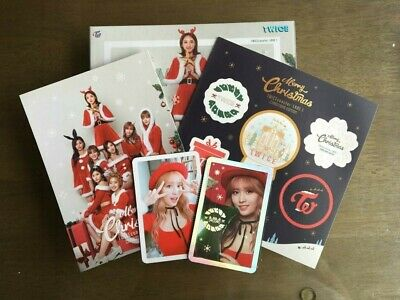 Twice 3rd Mini Album Christmas Edition Twicecoaster Lane1 MOMO 2 photocard