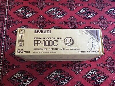 Fuji Fujifilm FP-100C Instant Color Film 60 Packs (FULL CASE)