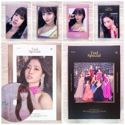 Twice - Feel Special (8Th Mini Album) Momo Cd Lyrics Photocard Set (Ver C)