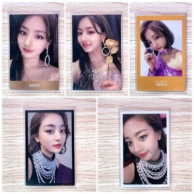 Twice - Feel Special (8Th Mini Album) Official Jihyo Photocard Set