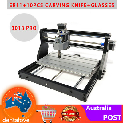 2IN1 3018 DIY CNC Router Kit + Laser Engraving Machine 500MW Laser Head+USB Port