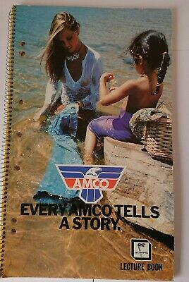 Vintage Amco Denim Olympic Stationary Lecture Book-Every Amco Tells A Story
