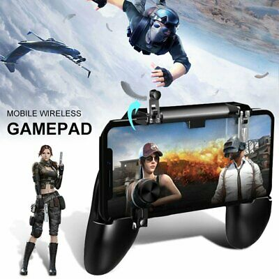 Mobile Phone Gaming Trigger Joystick Remote Controller Gamepad for PUBG Fortnite