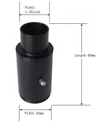 """Visionking 1.25"""" Projection Camera Adapter Astronomical Telescope Accessory"""