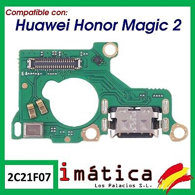 Placa De Carga Para Huawei Honor Magic 2 Conector Usb Microfono Puerto Antena