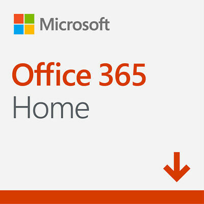 New Microsoft Office 365 Home - Digital Delivery - PC/MAC - 1 Year Subscription