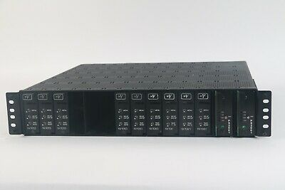 NVision 1000/2000 CNTRL # 9K50 Chassis W/ 11x Modules
