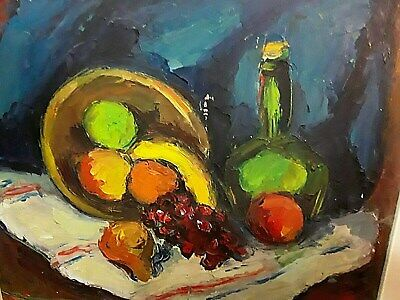 Herman Heimlich, Canadian Artist, Montreal Painting Still Life 1949 Well Listed