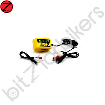 Motobatt Motorcycle Battery Charger Trickle 6V & 12V Baby Boy with Auto Cut Off