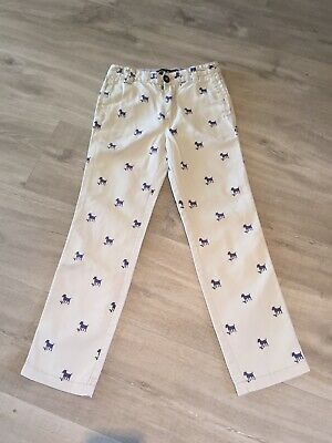Boys Mini Boden Trousers Age 7 Years
