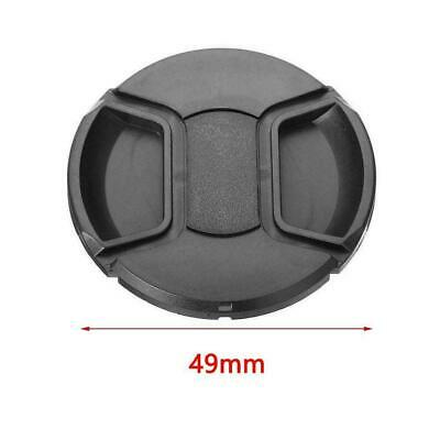 49mm lens cap Cover with string For Canon Nikon SLR Photo Cameras DSLR D1B0