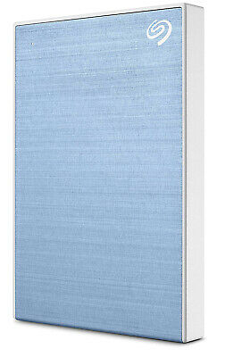 Seagate - STHN2000402 - 2TB Backup Plus Slim Portable Drive - Light Blue
