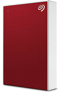New Seagate - STHP4000403 - 4TB Backup Plus Portable Drive - Red