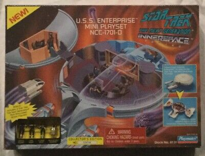 Star Trek The Next Generation USS Enterprise Innerspace Mini-Playset StockNo6131