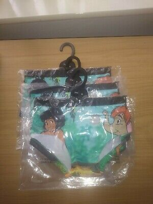 Disney Jungle Book 3 pairs Ladies Girls new  Knickers Briefs Pants size 6.