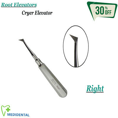 Surgical Dental Extracting Cryer Root Elevator Right