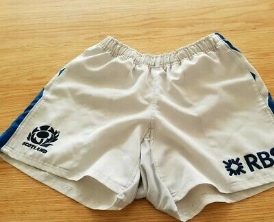 Scotland Rugby Shorts Rare Item Size 34