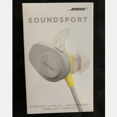 Bose SoundSport Wireless Bluetooth Headphones Headset Sliver( New)