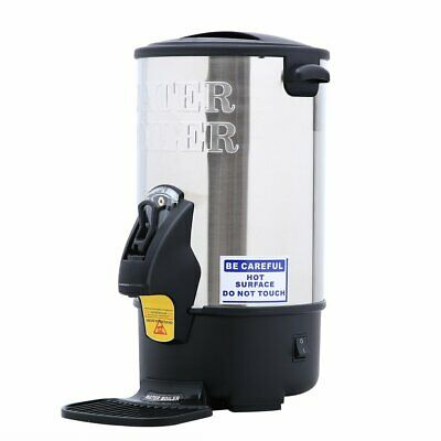 Electric Hot Water Tea Coffee Boiler Commercial Catering Tea Urn Wine fL