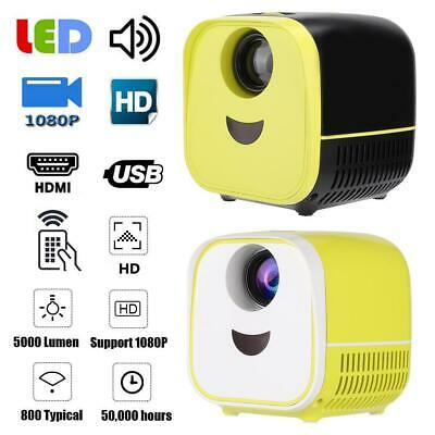 MINI LED Projector L1, Portable Projector,HD 1080P HDMI Video for Home Theater