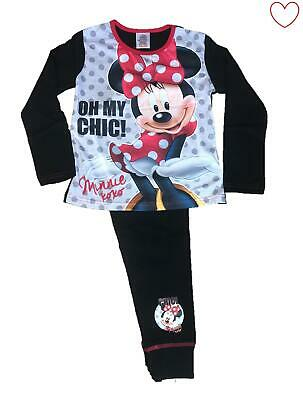 Disney Girls Pajamas Minnie Mouse Kids Official