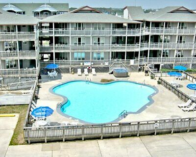 Outer Banks Beach Club Ii, 2 Bed, Ocean Front-Christmas Week, Timeshare For Sale