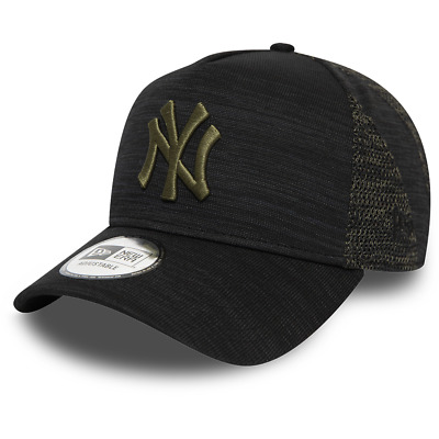 New Era New York Yankees Baseball Cap.9Forty Mlb Black Engineered Fit Hat 9W2 8