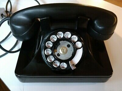 Vintage North Electric Galion rotary phone telephone bakelite