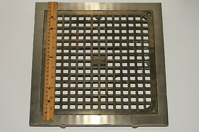 """JR SMITH 12.5"""" Solid Brass Industrial Floor Drain Cover 6486"""