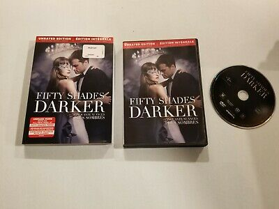 Fifty Shades Darker (DVD, 2017, Unrated Edition)