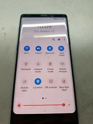 Samsung Galaxy Note 9 Lcd, burn image , please read