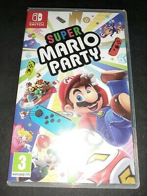 Jeux Nintendo Super Mario Party Switch Neuf Sous Blister !