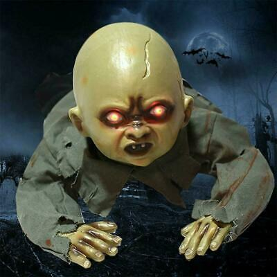 Halloween Crawling Ghost Zombie Baby Prop Horror House ZY Party Haunted HOT H7D9
