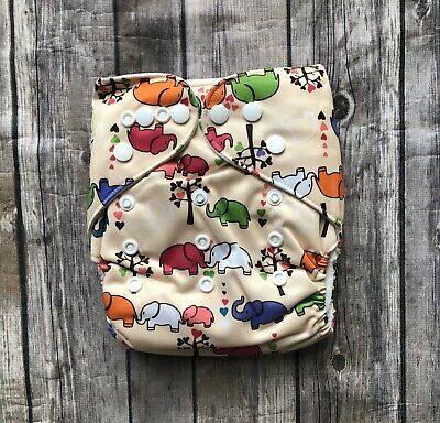 New Without Tags Cloth Diaper With 2 Inserts