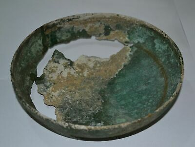 Museum quality Bronze Age Bronze Offering Plate