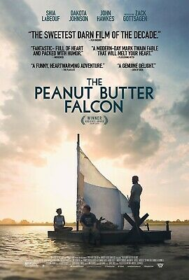 The Peanut Butter Falcon 13.5x20 Promo Movie POSTER