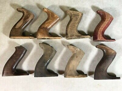 Vtg Lot of 8 Stanley Woodworking Plane Back Handles Only
