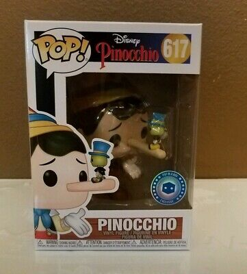 Funko Pop! Disney: Pinocchio and Jiminy Cricket #617 - Pop In A Box Exclusive