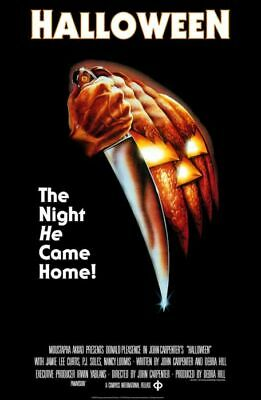 Halloween Classic Movie Poster 24 X 36