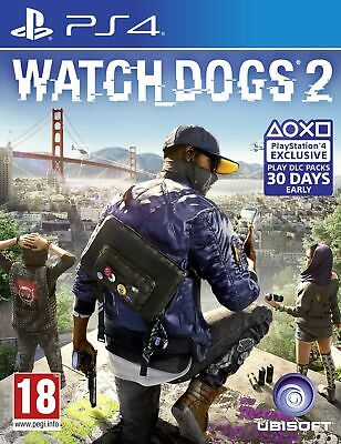 Watch Dogs 2 (PS4) *VERY GOOD CONDITION*