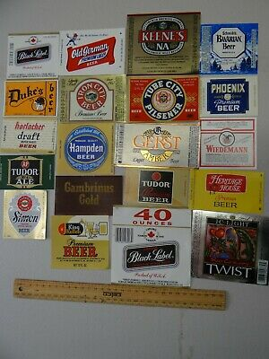 30 x COLLECTABLE USA / NORTH AMERICA BEER LABELS