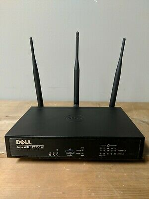 DELL Sonicwall Tz300w Firewall - Tz 300 Wireless Network Security Router
