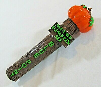 Blue Point Mother Pumpkin Ale Beer Tap Handle