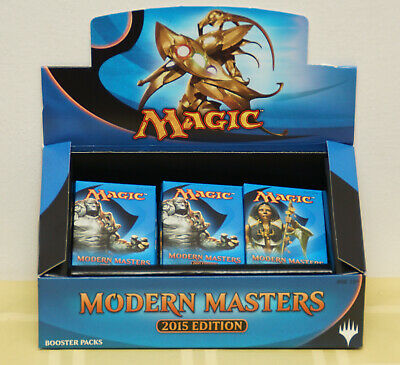 Magic MTG Modern Masters 2015 MM2 Booster Pack - New, Sealed Packs, English