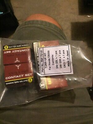 2FastMoto Honda Ignition Tune Up Points Condenser Plugs CB CL SL 350 CJ 360 Twin