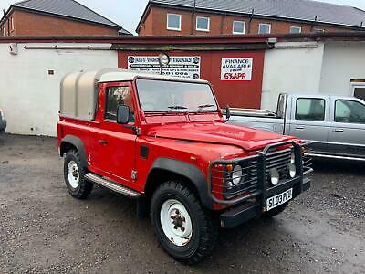 2003 (03) Land Rover Defender 90 2.5 Td5 Pick Up + Canopy